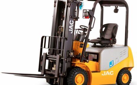 Вилочный электрический погрузчик JAC CPD 15 J
